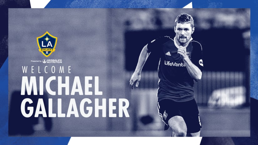 Michael Gallagher signs