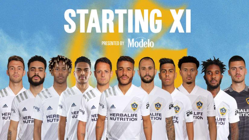 Starting XI presented by Modelo: LA Galaxy vs. FC Dallas | October 23, 2021