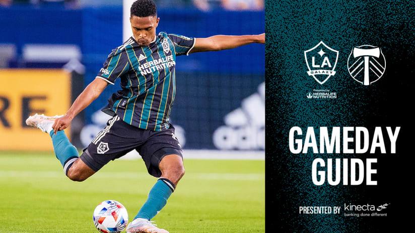Gameday Guide: LA Galaxy vs. Portland Timbers   July 30, 2021