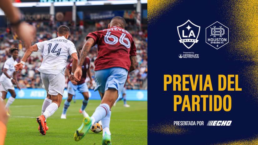 Previa del Partido Presentado por ECHO Outdoor Power: LA Galaxy vs. Houston Dynamo FC | 15 de septiembre de 2021