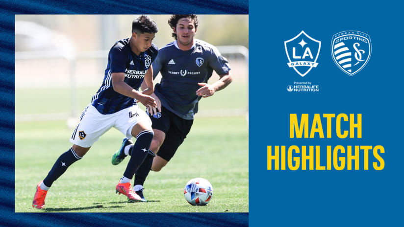 HIGHLIGHTS: LA Galaxy vs. Sporting KC   April 3, 2021