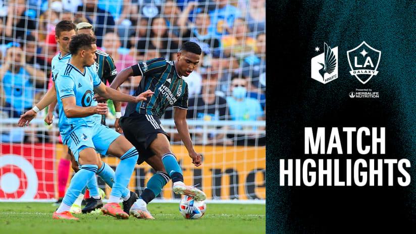 HIGHLIGHTS: Minnesota United FC vs. LA Galaxy | August 14, 2021