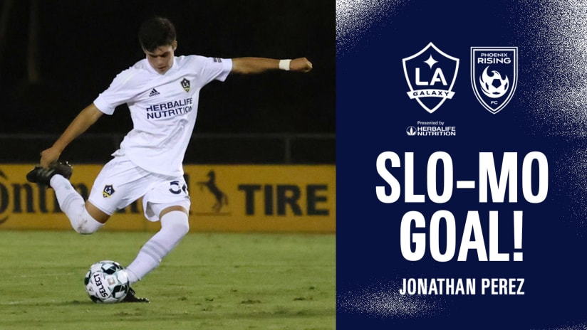 SLO-MO GOAL: Jonathan Perez vs. Phoenix Rising FC | September 11, 2021
