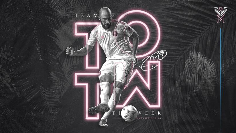 Gonzalo Higuaín Named to MLS Team of the Week