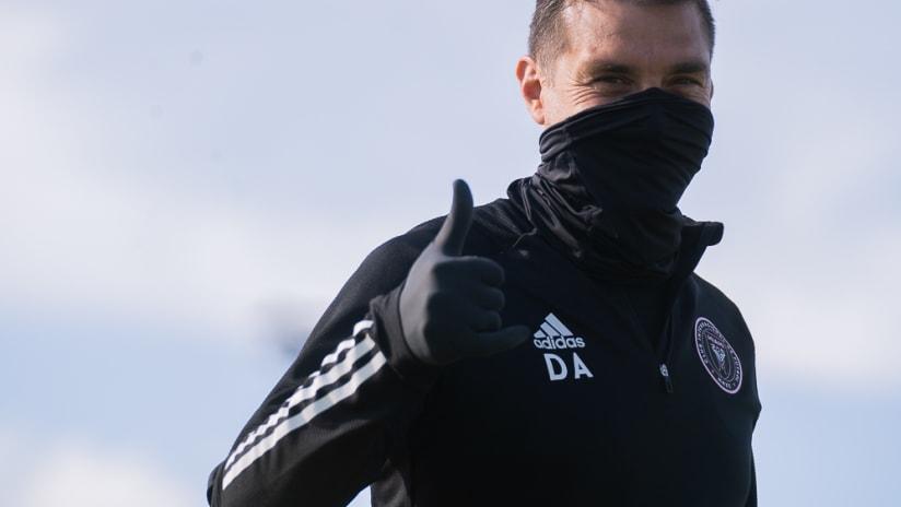 Diego Alonso Training 5.13.20