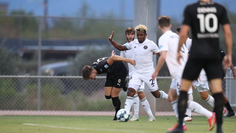 Fort Lauderdale CF falls 2-1 Against FC Tucson 07.03.21