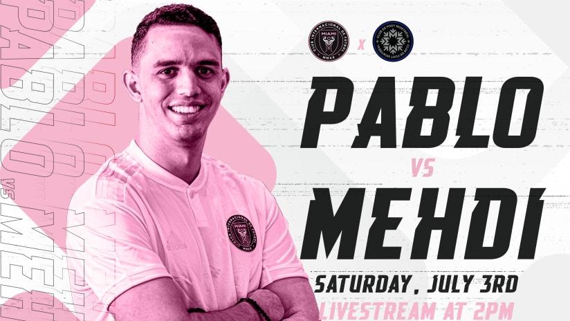 Pabs vs the Pros: Friendly Livestream vs CF Montréal