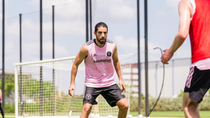 Rodolfo Pizarro in training 05.07.21