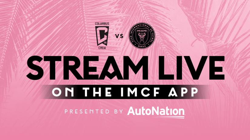 Transmisión gratis del partido: Columbus Crew contra Inter Miami CF | 16 de octubre de 2021
