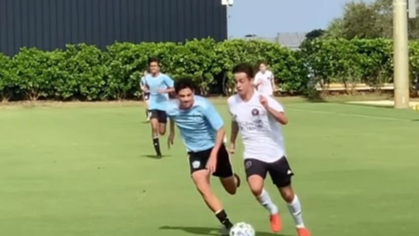 Great Fútbol from our U15 Academy Team