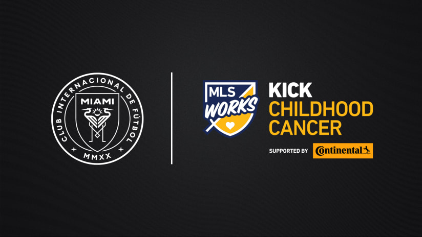 MLS, Inter Miami CF to Honor MLS's Kick Childhood Cancer Awareness Month