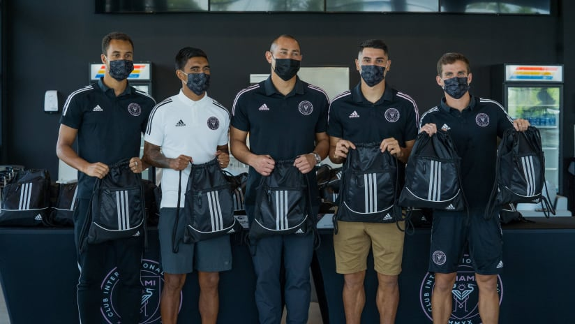 Inter Miami CF Supports Virtual Learning with Back to School Program presented by Gallagher