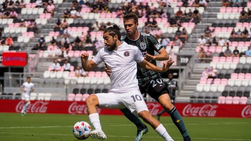 Rodolfo Pizarro Action Shot vs. LAG 4.18.21
