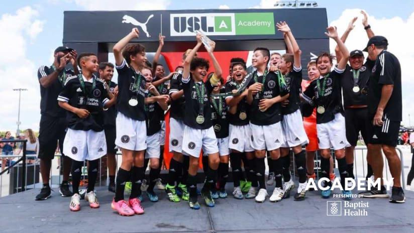 Academy Update: U-12 and U-13 Teams Win USL Academy Cup