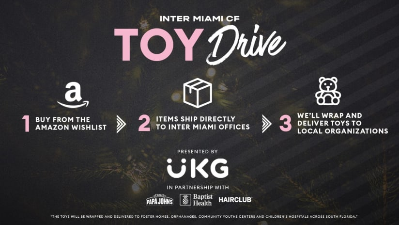 IMCF Second Annual Holiday Toy Drive Presented by UKG