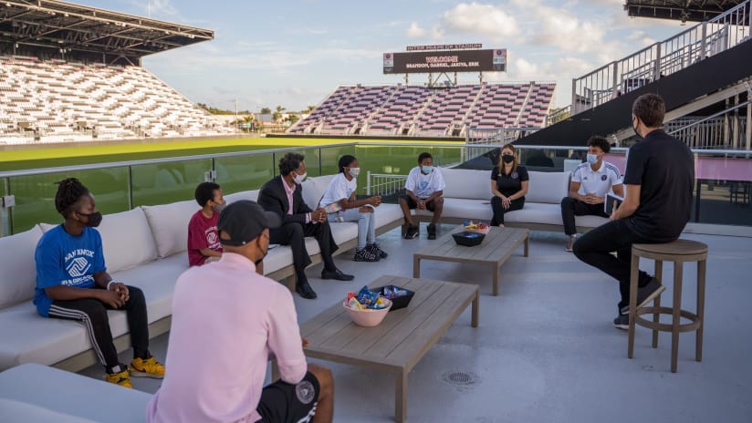 Inter Miami CF Launches the Club's Community Mentorship Program