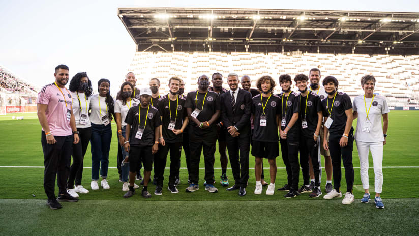 Inter Miami CF Launches Special Olympics Unified Team