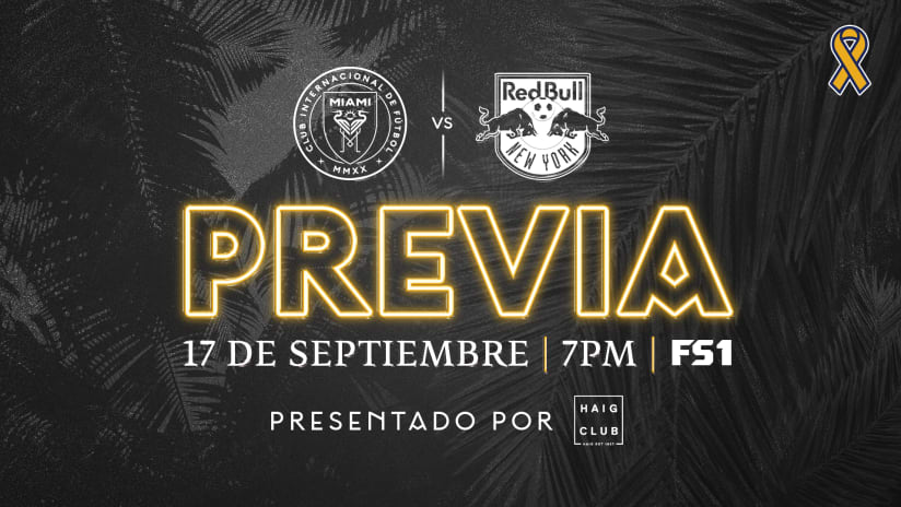 PREVIA: Inter Miami CF recibirá la visita del New York Red Bulls el viernes