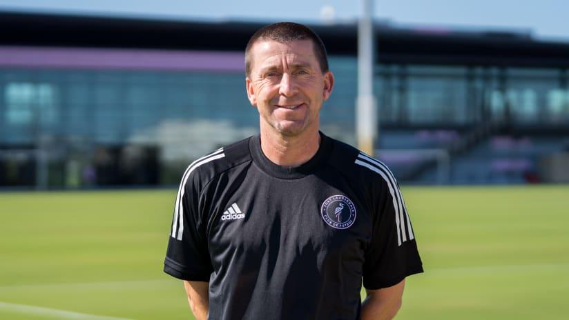 Darren Powell Fort Lauderdale CF Head Coach