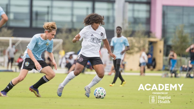 Academy Update: MLS Competition, Players of the Month and Azcona's Home Debut