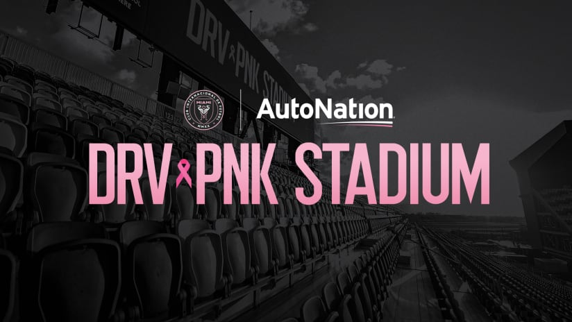 Inter Miami CF and AutoNation Partner to Drive Out Cancer; Sign Multi-Year Stadium Naming Rights and Training Top Deal
