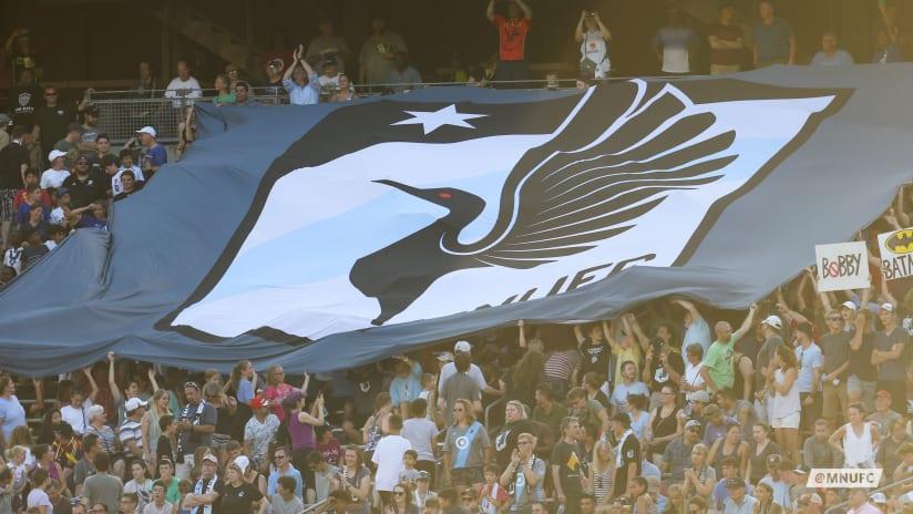 Fan tifo banner