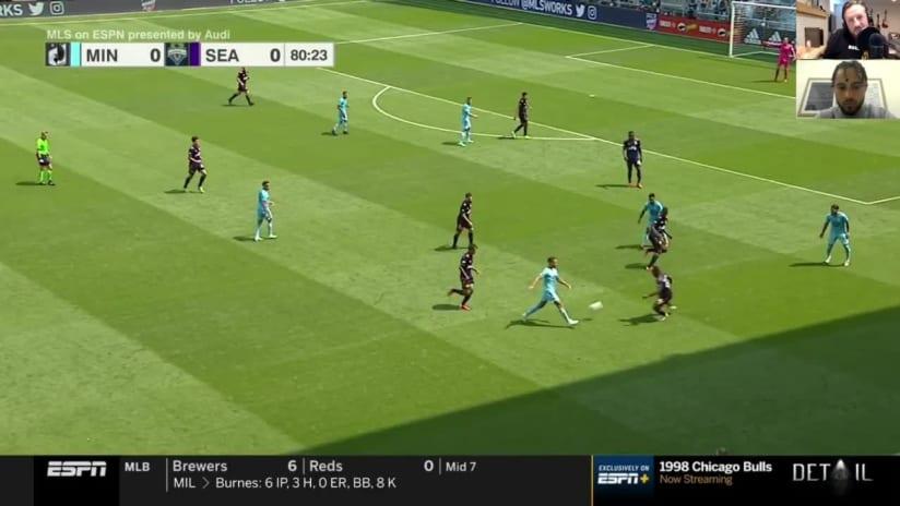In The Moment: Niko Hansen's Game-Winning Assist