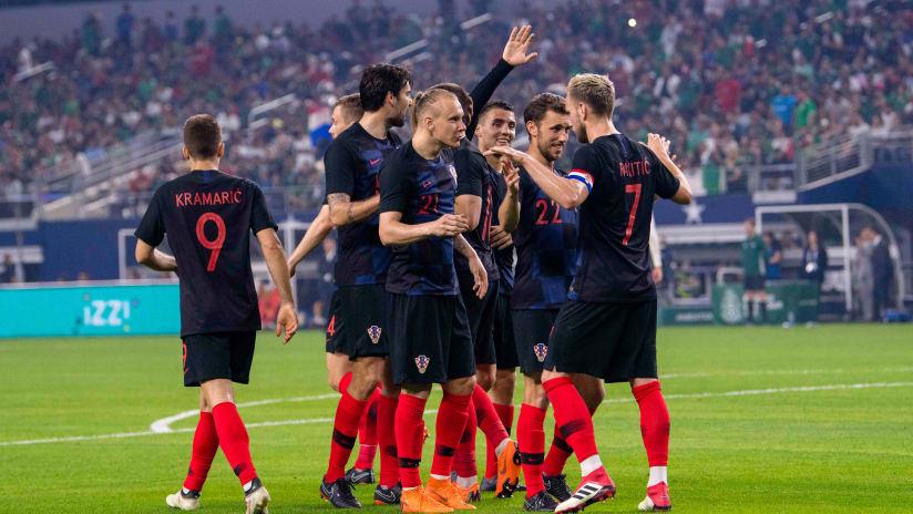 Croatia friendly vs Mexico