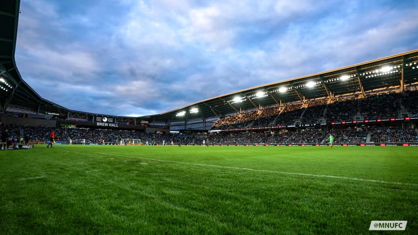 Allianz Field Full Capacity