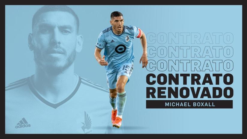 Michael Boxall firma nuevo contrato