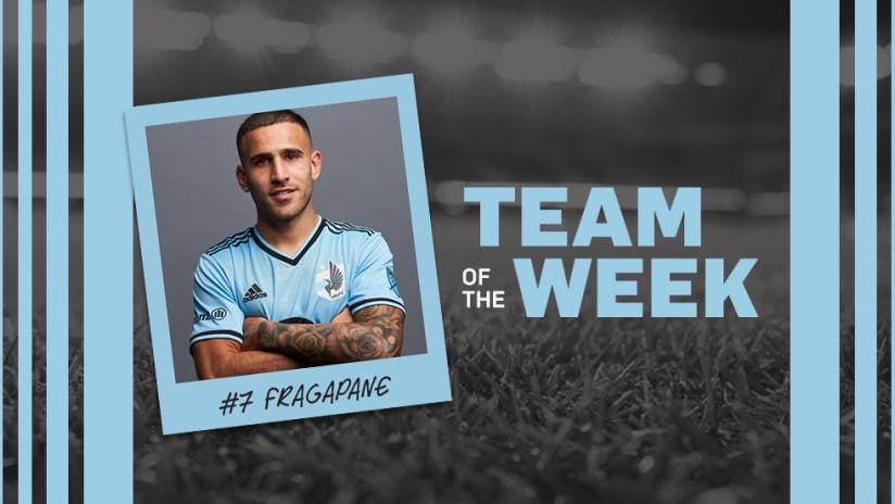 Franco Fragapane_Team of the Week