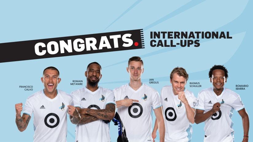 March International Call-Ups 2019