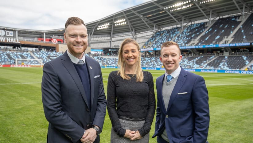Broadcaster at Allianz Field