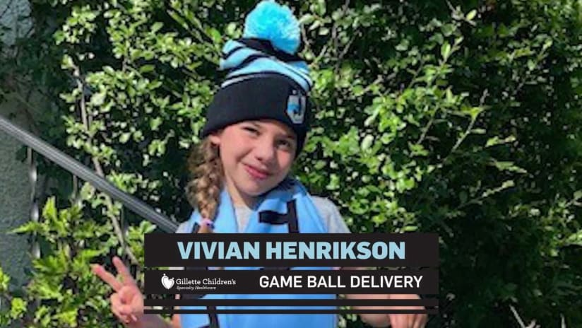 Game Ball Delivery: Vivian Henrikson | July 24, 2021