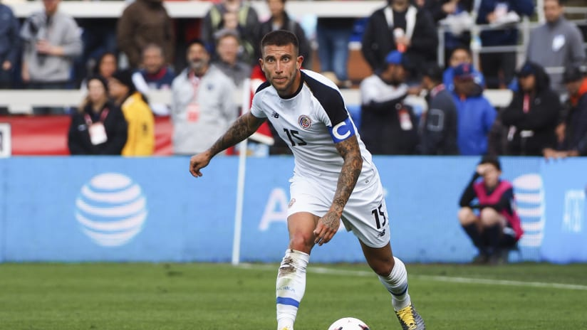 Francisco Calvo Costa Rica vs US 2019