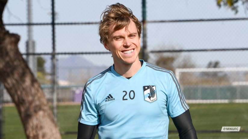Rasmus at Training