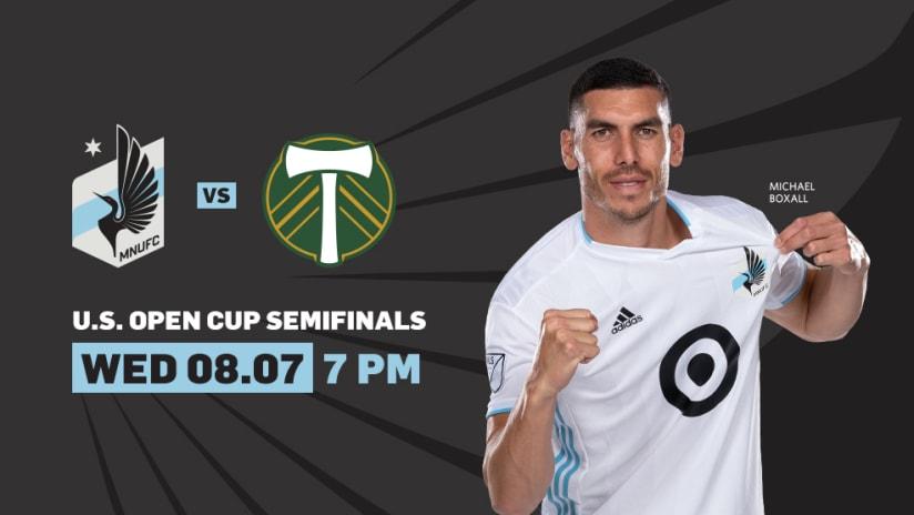 USOC Semis vs Portland