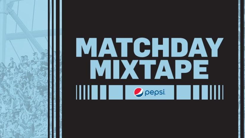 Pepsi Matchday Mixtape Playlist