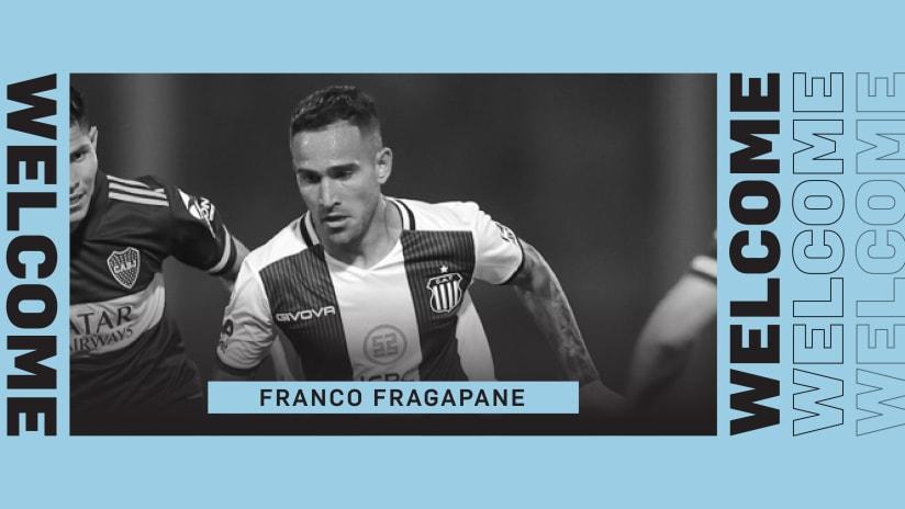 Welcome Franco Fragapane