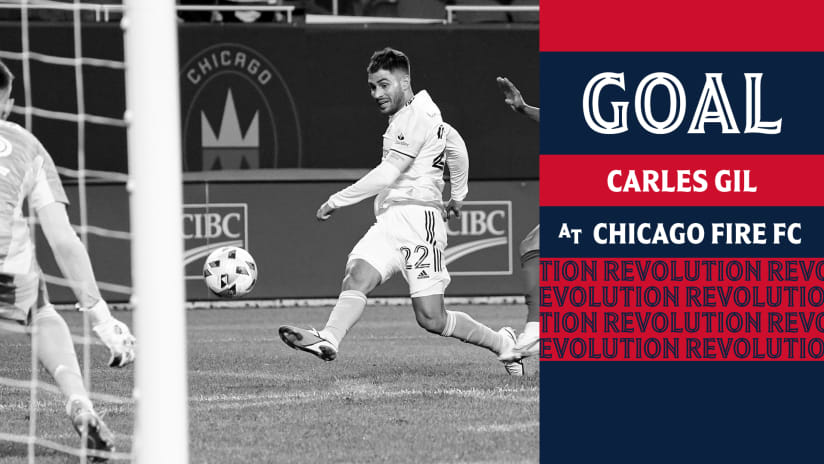 GOAL | Carles Gil wins it in stoppage time with a high drive to the near post (home call)