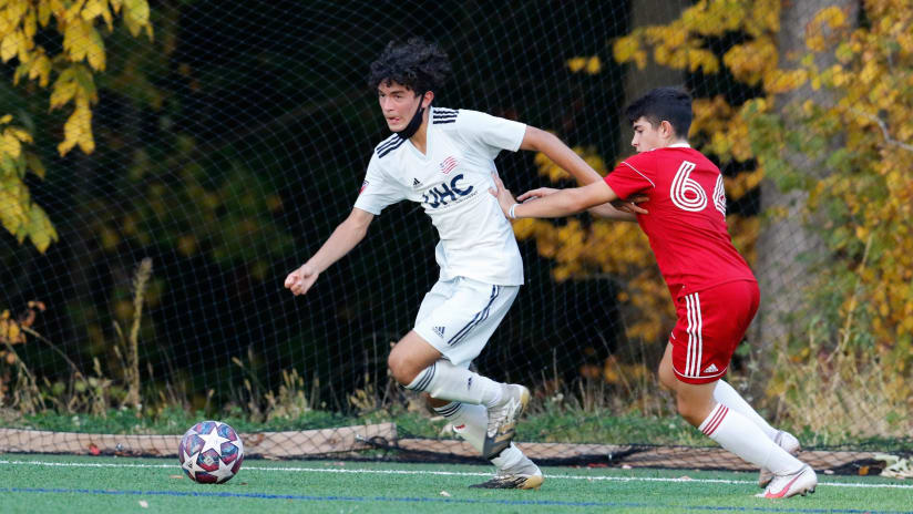 Academy Under-15s action