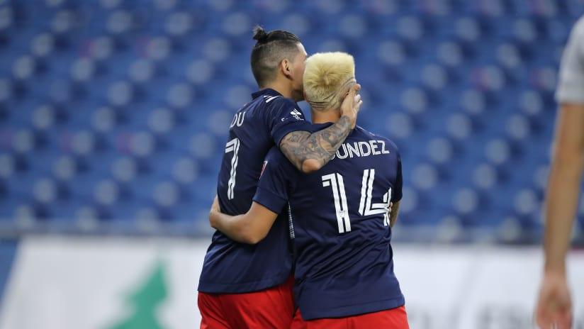 Bou and Fagundez goal celebration (Original, 2020)