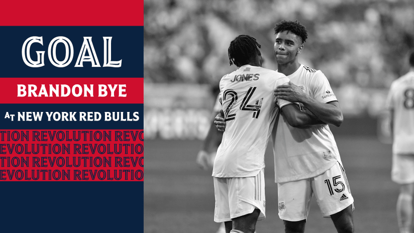 GOAL | Bye heads home Carles Gil's set piece to pull Revs level