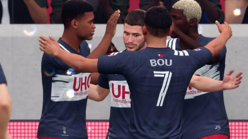 FIFA 20 Simulation | Goal celebration vs. New York Red Bulls