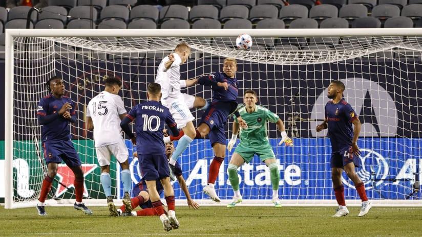 Adam Buksa goal vs. Chicago Fire FC (2021)