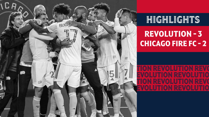 HIGHLIGHTS | Gil's stoppage-time winner clinches Revs' spot in Audi MLS Cup Playoffs