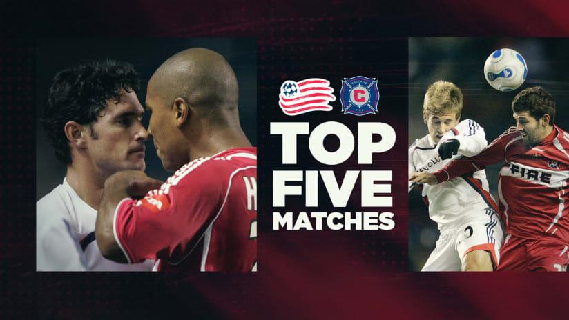 DL - Top Five Matches - Revolution vs. Chicago Fire