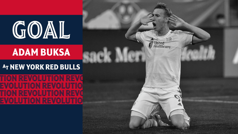 GOAL | Buksa's stoppage-time winner caps wild night at Red Bull Arena