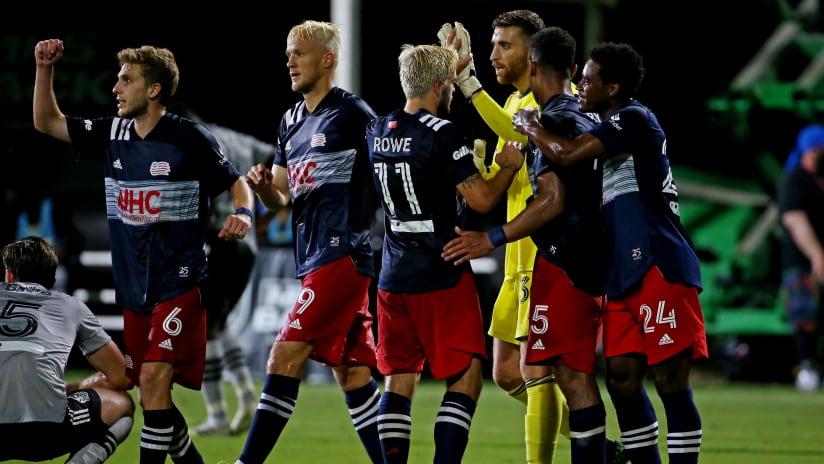 Team celebration   MLS is Back (Original, 2020)