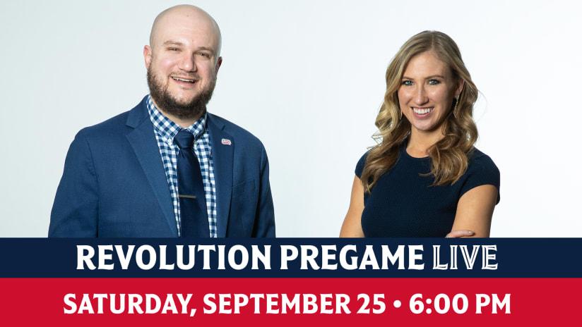 WATCH | Revolution Pregame Live previews Revs vs. Orlando City SC (Saturday, 6 p.m.)
